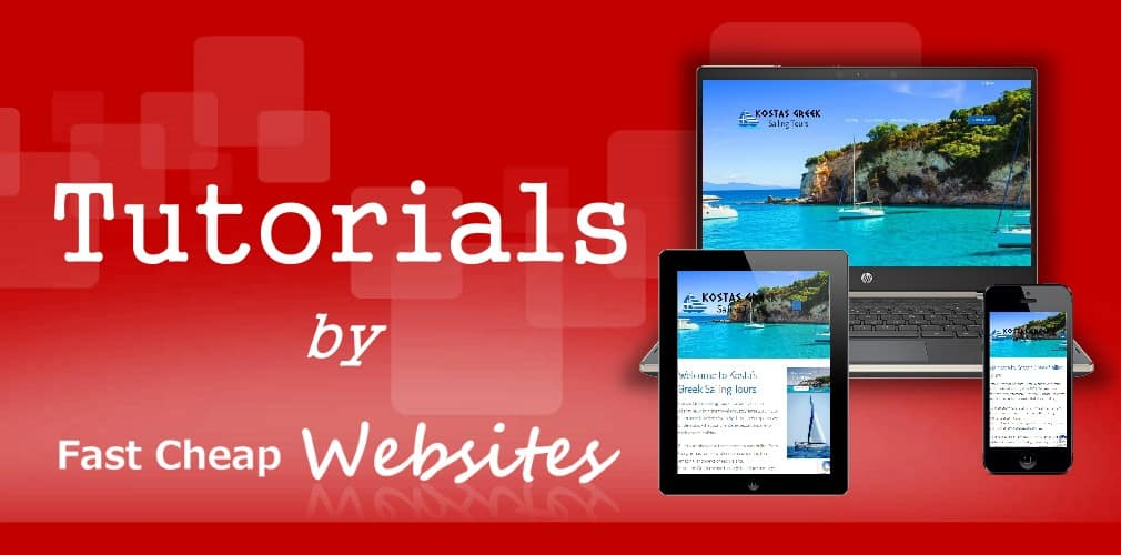 wordpress tutorials by fast cheap websites