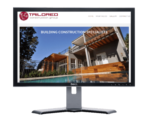 construction company-Websites by web designer Angie from Fast Cheap Websites Melbourne Sydney Brisbane Adelaide Perth