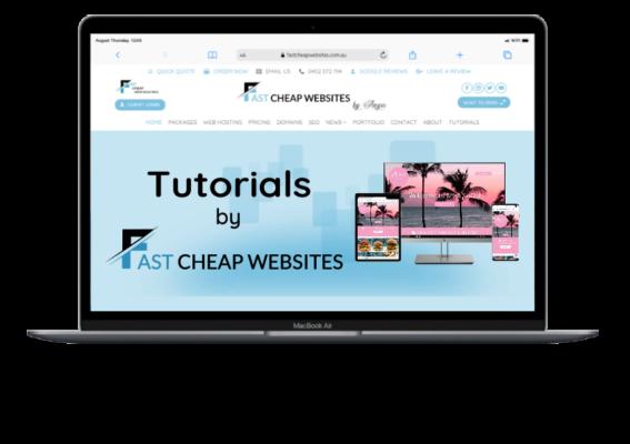 Tutorials by Fast Cheap Websites